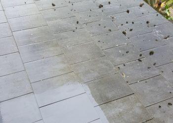 Dachziegelreinigung