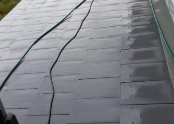 Dachziegelreinigung nachher